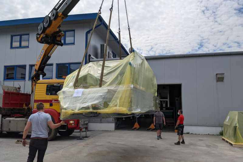 Expansion of machinery CNC 5-axis machining centre June 2021 3