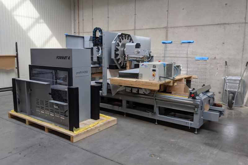 Expansion of machinery CNC 5-axis machining center June 2021 5