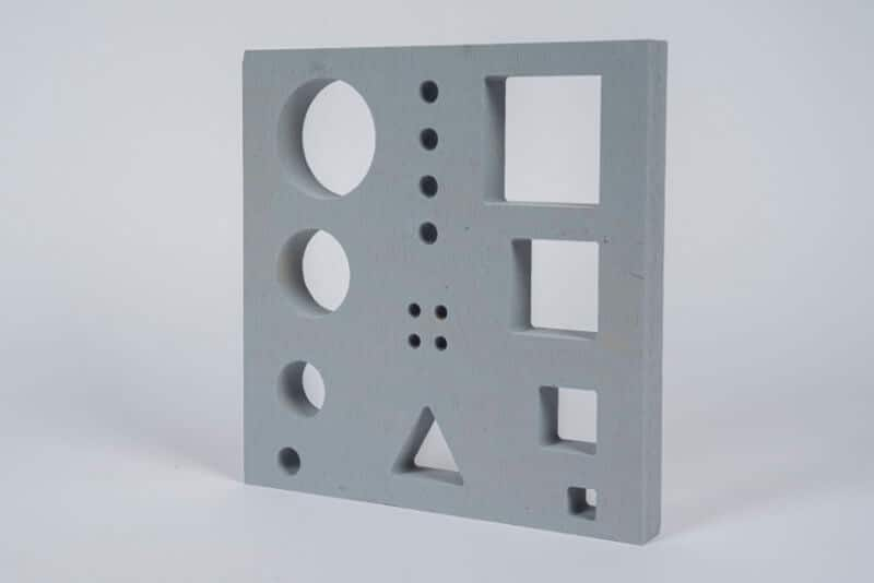 Calcium Silicate Board CNC Moulded Parts Possibilities Products KS Kneissl Senn Technologie GmbH 3
