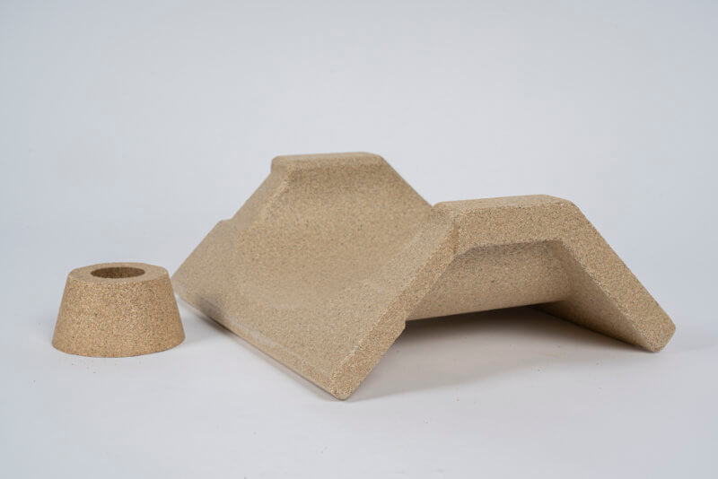 Moulded parts CNC milled parts Refractory products KS Kneissl Senn Technologie GmbH 3