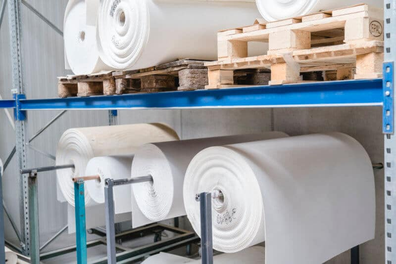 Roll goods Refractory materials Products Production KS Kneissl Senn Technologie GmbH